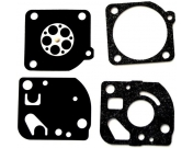 Комплект мембран GND-41 карбюратора Zama C1Q для мотокос Oleo-Mac Sparta 37, 42, 730, 735, 740, Efco, Олео-Мак (2318885)