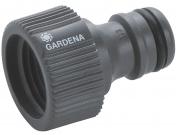 """Штуцер резьбовой Gardena 1/2"""", Гардена (02900-29.000.00)"""