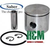 Поршень Saber D38 для бензопилы Oleo-Mac 937, GS 370, Efco 137, Сабер (62-105)