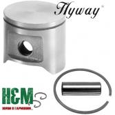 Поршень Hyway D48 до бензопил Husqvarna 362, 365, Jonsered 2165, Хивей (PK000042)