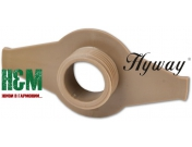 Привод маслонасоса Hyway для бензопил Husqvarna 362, 365, 371, 372, Хивей (WG000009)