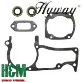 Прокладки Hyway для бензопил Husqvarna 362, 365, 372, Хивей (GA000006)
