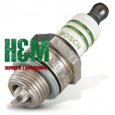 Свеча зажигания Bosch WSR 6 F для бензопил Stihl MS 170, 180, 200, 210, 230, 250, Бош (11104007005)