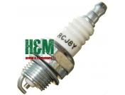 Свеча зажигания RCJ8Y для мотокос Husqvarna 124, 125, 128, Jonsered 2126, 2128, Хускварна (5300300-75)