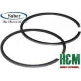 Поршневые кольца Saber D40 для бензопил Stihl MS 210, 211, 230, мотокос Stihl FS 400, Сабер (63-005)
