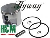 Поршень Hyway D50 для бензорезов Stihl TS 410, 420