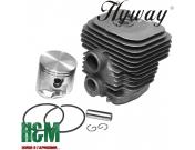 Поршневая Hyway D50 Nikasil для бензорезов Stihl TS 410, 420