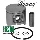 Поршень Hyway D40 до бензопил Husqvarna 40, мотокос Husqvarna 240, Jonsered GR41, RS41, Хивей (PK000032)