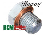 Заглушка декомпресійного отвору Hyway до мотокос Jonsered 2145, Хивей (VA000006)