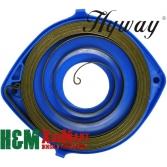 Пружина стартера Hyway для бензорезов Husqvarna K650, K750, K760, K950, K960, K970, Хивей (SS000008)