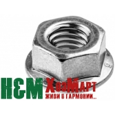 Гайка крепления шины для бензопил Husqvarna 136, 137, 141, 142, 230, 235, 236, 240, Хускварна (5300159-17)