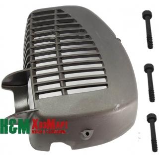 Крышка глушителя для мотокос Husqvarna 124, 128
