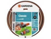 """Шланг садовый поливочный Gardena Classic, 1/2"""", 20, комплект, Гардена (18004-20.000.00)"""