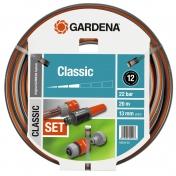 """Шланг садовый поливочный Gardena Classic, 1/2"""", 20, комплект"""