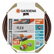 """Шланг садовый поливочный Gardena Flex Comfort, 1/2"""", 20, комплект"""