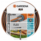 """Шланг садовый поливочный Gardena Flex Comfort, 1/2"""", 50"""