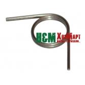 Пружина рычага дроссельной заслонки для мотокос Stihl FS 38, 45, 55, Штиль (41401824500)