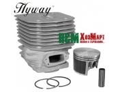 Поршневая Hyway D60 Nikasil MoS2 для бензорезов Husqvarna 3120K, 3122K, K1250, K1260, Хивей (CK000129)