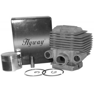 Поршневая Hyway D56 Nikasil MoS2 для бензорезов Stihl TS 700, 800