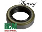 Сальник коленвала Hyway 15x24x7 для бензорезов Stihl TS 400, 410, 420, 510, 760, Хивей (OS000013)