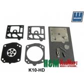 Ремкомплект K10-HD карбюратора Walbro до мотокос Stihl FS 500, 550, Валбро (Y29.18.147)