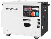 Дизельный генератор Hyundai DHY 6000SE-3, Хюндай (DHY 6000SE-3)
