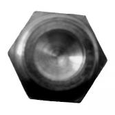 Заглушка редуктора для мотокос Husqvarna 240, 245, 250, 252, 265, Jonsered GR, RS, Хускварна (5021159-02)