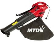 Садовий пилосмок-повітродув MTD BV 2400 E, МТД (4008423842807)