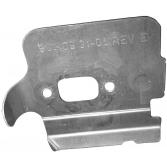 Пластина глушителя для бензопил Husqvarna, Jonsered, Хускварна (5440831-04)