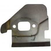 Пластина глушителя для бензопил Husqvarna, Jonsered, McCulloch