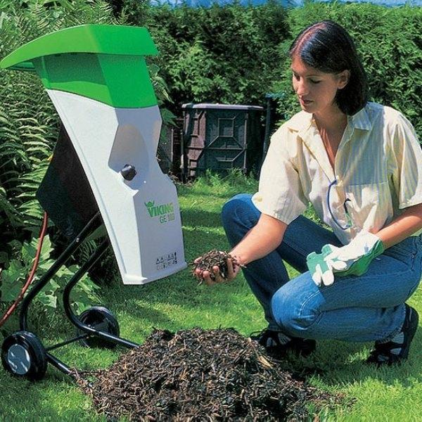 Садовый измельчитель травы своими руками видео