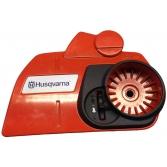 Крышка сцепления и тормоза цепи для бензопил Husqvarna 340, 345, 350, 445, 450, 455, Хускварна (5442172-01)