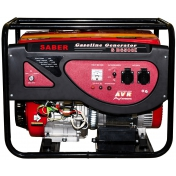 Бензиновий генератор Saber SB6500E