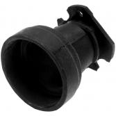 Патрубок впускной для бензопил Husqvarna 340, 345, 346, 350, 351, 353, РАПИД (12343035)