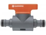 "Клапан регулирующий для шланга Gardena, 13 мм, 1/2"", Гардена (00976-50.000.00)"