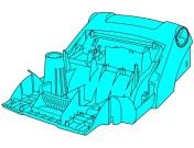 Корпус до аератору Gardena EVC 1300, Гардена (04070-00.900.47)
