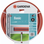 "Шланг садовий поливальний Gardena Basic, 1/2"", 20"