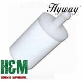 Фільтр паливний Hyway 3.5мм до бензотехіки Husqvarna, Jonsered, McCulloch, Partner, Хивей (FI000005)
