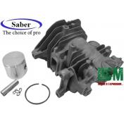 Поршневая Saber D38 для бензопил Oleo-Mac 937, GS 370, Efco 137