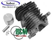 Поршневая Saber D40 для бензопил Oleo-Mac 941 C, 941 CX, GS 410, Сабер (61-065)
