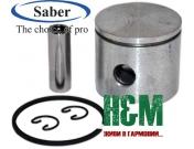 Поршень Saber D38 до бензопили Oleo-Mac 937, GS 370, Efco 137, Сабер (62-105)