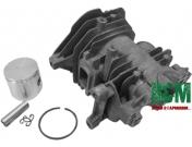 Поршнева ITAL D38 до бензопил Oleo-Mac 937, GS 370, Efco 137, ИТАЛ (127-55)