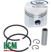 Поршень Saber D45 для бензопил Oleo-Mac 952, Efco 152, Сабер (62-025)
