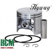 Поршень Hyway D60 до бензопил, бензорізів Husqvarna 3120, 3120K, 3122K, K1250, K1260, Хивей (PK000049)