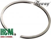 Поршневое кольцо Hyway D48 для бензопил Oleo-Mac 962, 965, Efco 162, 165, Хивей (PR000041)