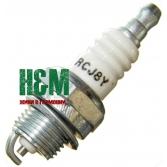 Свічка запалювання RCJ8Y до мотокос Husqvarna 124, 125, 128, Хускварна (5300300-75)