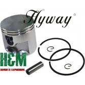 Поршень Hyway D50 для бензорезов Stihl TS 410, 420, Хивей (PK000027)