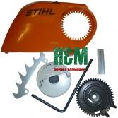 Крышка тормоза цепи и сцепления для электропил Stihl MSE 140, 160, 180, 200, Штиль (12080071000)