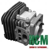 Цилиндр D38.5 для бензопил Partner P340 S, Хускварна (5838367-01)