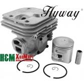 Поршневая Hyway D50 Nikasil для бензопил Husqvarna 365 X-TORQ, Jonsered 2166, Хивей (CK000133)